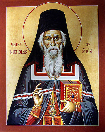 Image for St. Nicholas of Zica (8 x 10)