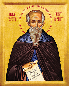Image for St. Benedict of Nursia - Abbot, Holy Ascetic (8 x 10)