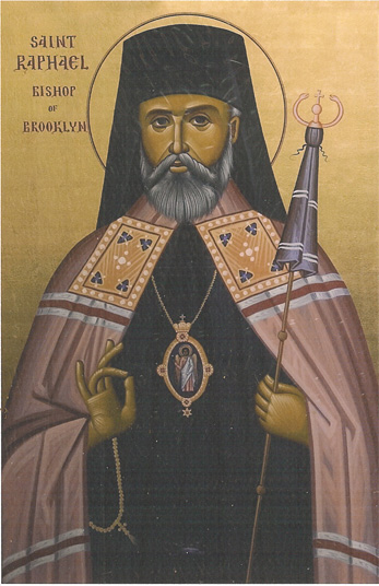 Image for St. Raphael of Brooklyn (8 x 12)