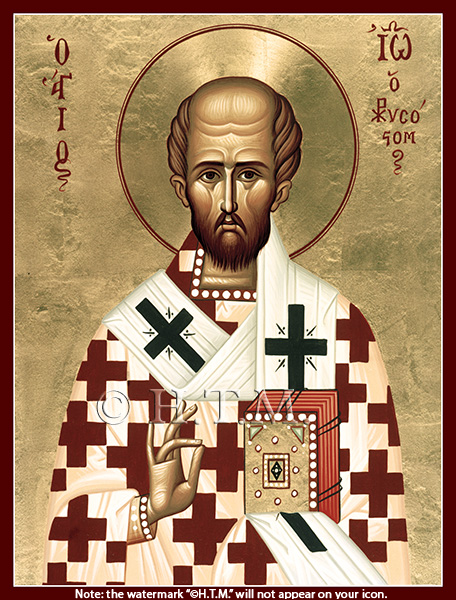Image for St. John Chrysostom - Greek (8 x 10, glossy)