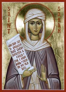 Image for St. Sarah the Righteous (7.5 x 10, glossy)