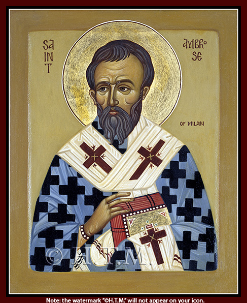 Image for St. Ambrose of Milan (8 x 10, glossy)
