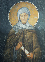 Image for St. Ephraim the Syrian - Panselinos 14th century (7.5 x 10)