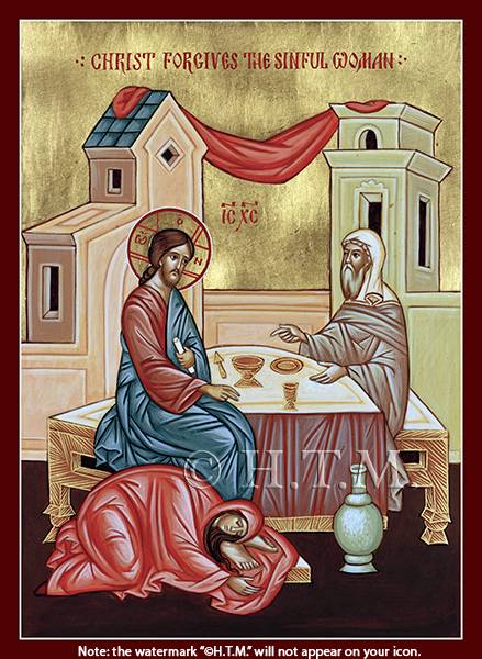 Image for Christ Forgives the Sinful Woman (7.5 x 10, glossy)