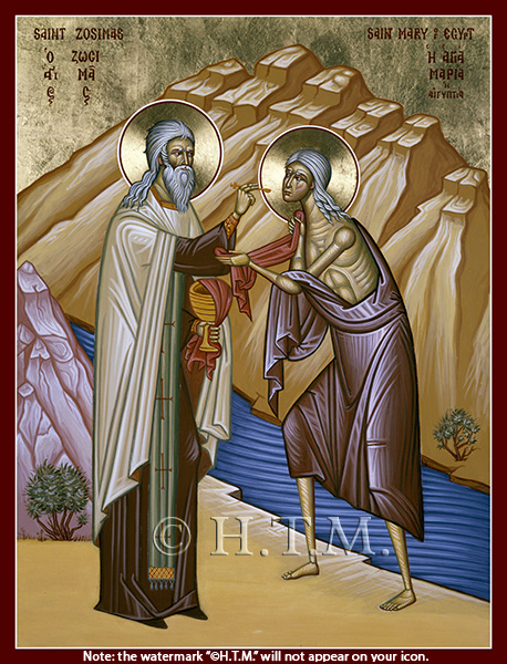 Image for St. Mary of Egypt & St. Zosimas