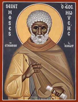 Image for St. Moses the Ethiopian (8 x 10, glossy)