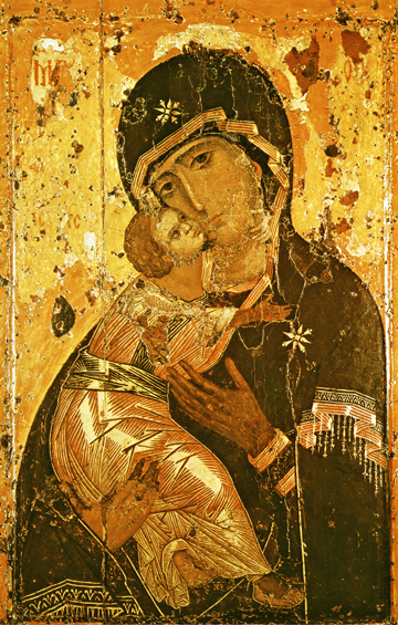 Image for Theotokos of Vladimir (6.5 x 10)