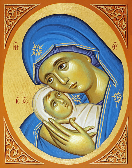 Image for Nativity of the Lord - Mother & Chid detail (8 x 10)