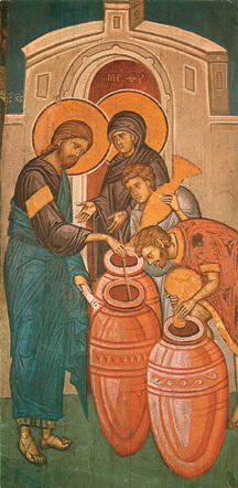 Image for Christ Changing Water To Wine (5.5 x 11)
