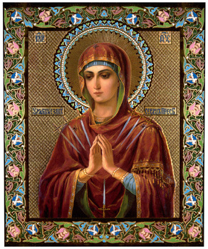 Image for Theotokos Softener of Evil Hearts (5 x 6)