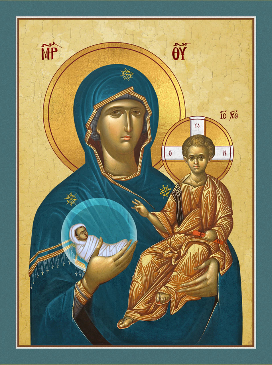 Image for Theotokos Protectress of the Unborn (7.5 x 10)