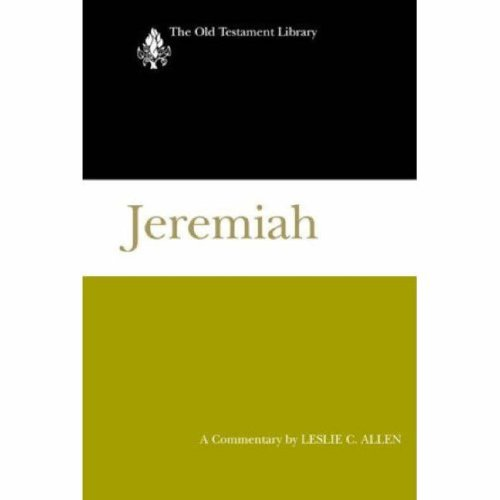 Image for Jeremiah: A Commentary (Old Testament Library)