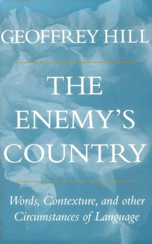 Image for The Enemy's Country: Words, Contexture, and Other Circumstances of Language