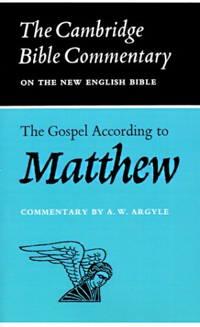 Image for The Gospel According to Matthew
