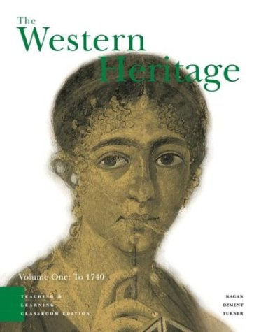 Image for The Western Heritage Volume 1: Teaching and Learning Classroom Edition (4th Edition)