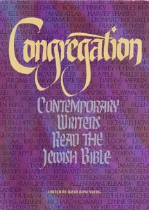 Image for Congregation: Contemporary Writers Read the Jewish Bible
