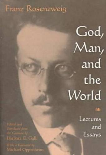 Image for God, Man, and the World: Lectures and Essays (Library of Jewish Philosophy)