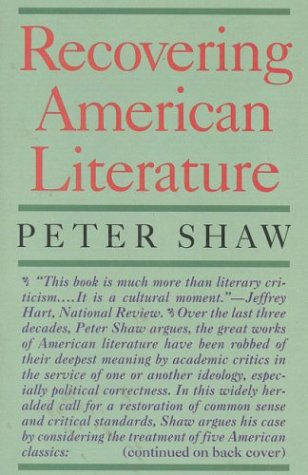 Image for Recovering American Literature