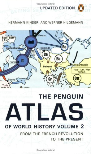 Image for The Penguin Atlas of World History, Volume 2: From the French Revolution to the Present (Penguin Reference Books)