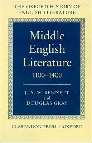 Image for Middle English Literature 1100-1400 (Oxford History of English Literature (New Version))