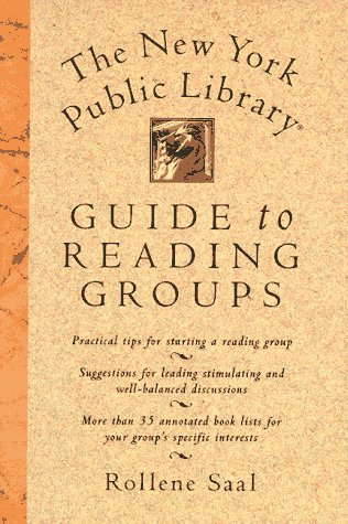 Image for The New York Public Library (R) Guide to Reading Groups
