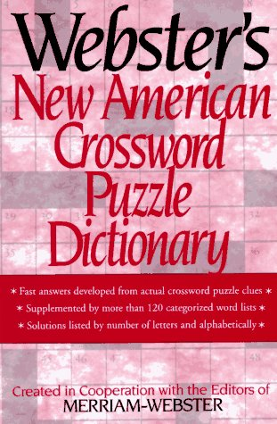 Image for Webster's New American Crossword Puzzle Dictionary