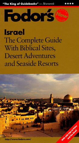 Image for Israel: The Complete Guide with Biblical Sites, Desert Adventures and Seaside Resorts (1997)