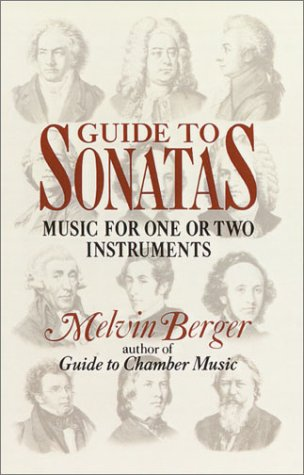 Image for Guide to Sonatas: Music for One or Two Instruments