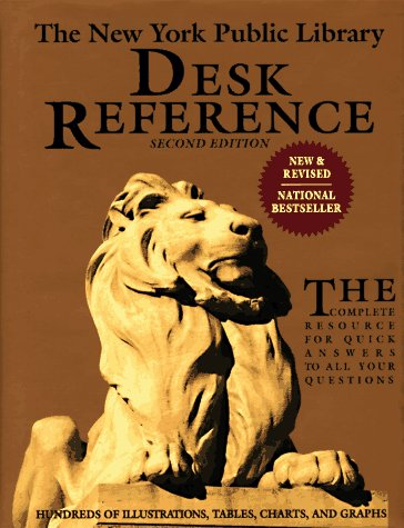 Image for The New York Public Library Desk Reference, Second Edition