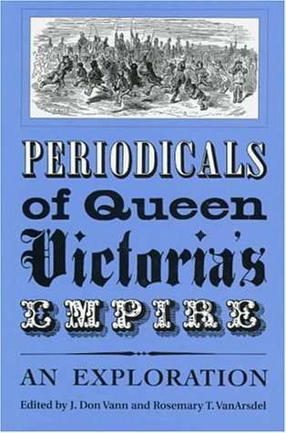 Image for Periodicals of Queen Victoria's Empire: An Exploration