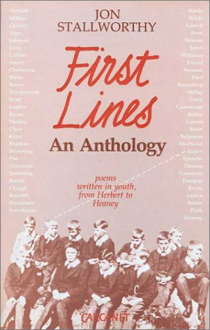 Image for First Lines: Poems Written in Youth from Herbert to Heaney (Fyfield Books)