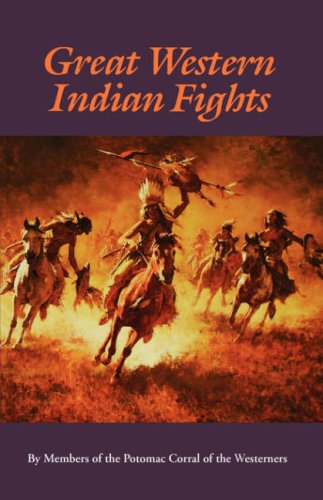 Image for Great Western Indian Fights (Bison Book)