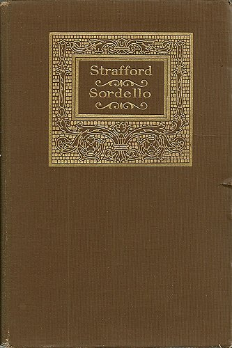 Image for Strafford Sordello The Complete Works of Robert Browning Volume 2 (Volume 2)