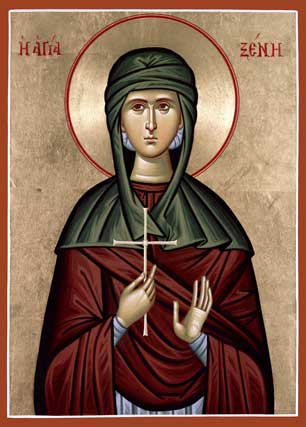 Image for St. Xenia of Rome (7 x 10, glossy)