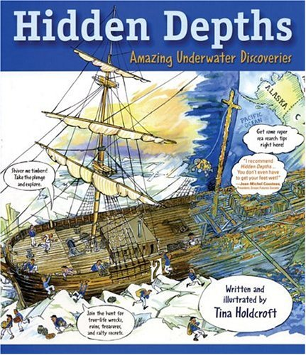 Image for Hidden Depths: Amazing Underwater Discoveries (Hidden! Series)