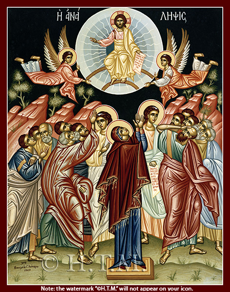 Image for Ascension of Christ - 20th c. Greek